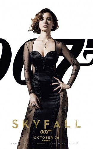 Berenice Marlohe as SEVERINE in SKYFALL - The Latest Entertainment News Today