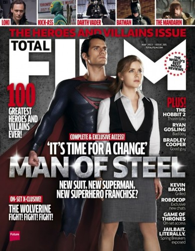 TOTAL FILM COVER - MAY 2013 Issue. MAN OF STEEL - TOMORROW'S NEWS - The Latest Entertainment News Today.