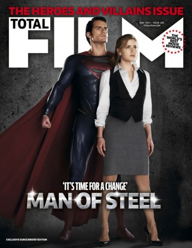TOTAL FILM COVER - MAY 2013 Issue - Subscriber's Edition. MAN OF STEEL - TOMORROW'S NEWS - The Latest Entertainment News Today.