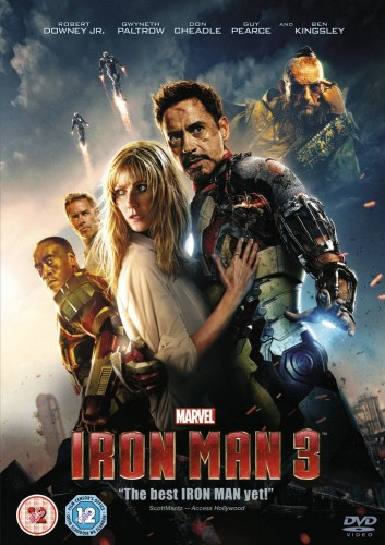 COMPETITION - Win IRON MAN 3 DVD! TOMORROW'S NEWS - The Latest Entertainment News Today!