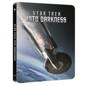 STAR TREK INTO DARKNESS - WIN Steelbook Blu-Ray - Competitions! TOMORROW'S NEWS - The Latest Entertainment News Today!