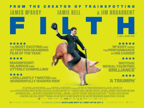 FILTH - Film Review! TOMORROW'S NEWS - The Latest Entertainment News Today!