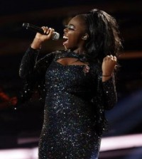 HANNAH BARRETT on X FACTOR 2013 - Week 4 - Disco Week