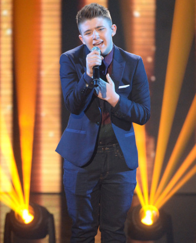 Nicholas McDonald on Week 7 of X FACTOR Live Shows - 10th Anniversary. TV Review