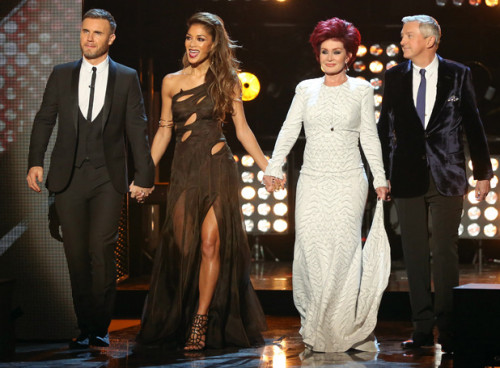The Judges on Week 7 of X FACTOR Live Shows - 10th Anniversary - TV Review