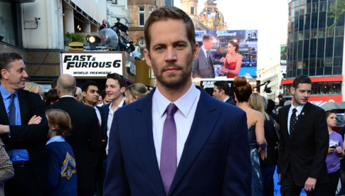 Paul Walker at the London premiere of Fast and Furious 6. TOMORROW'S NEWS - The Latest Entertainment News Today!