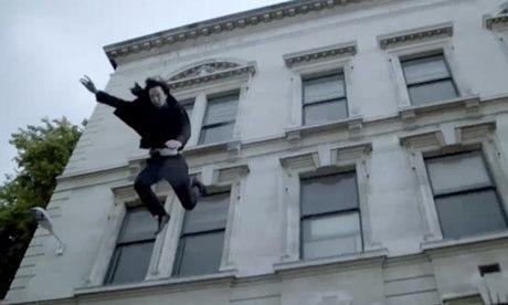 BENEDICT CUMBERBATCH as SHERLOCK - Falling.