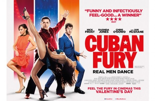 FILM REVIEW: CUBAN FURY - Nick Frost, Chris O'Dowd,Rashida Jones, Olivia Coleman