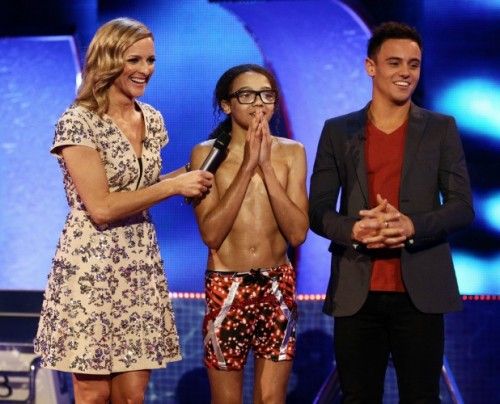 TV REVIEW: PERRI KIELY Wins SPLASH 2014 - ITV