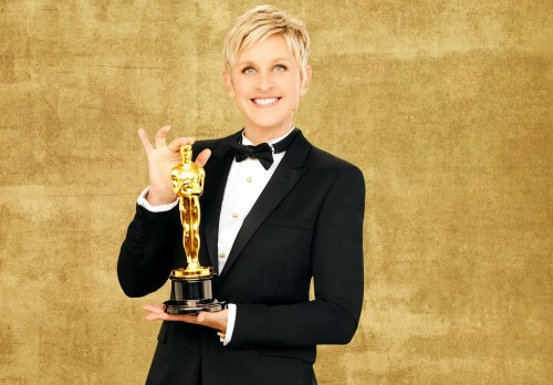 AWARDS NEWS: ELLEN DEGENERES and The 2014 OSCAR AWARD WINNERS