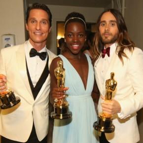 OSCAR NEWS: Winners - Matthew McConaughey, Lupita Nyong'o and Jared Leto