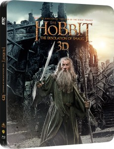 WIN The Hobbit - Desolation of Smaug Blu-ray 3D - Limited Edition Steelbook