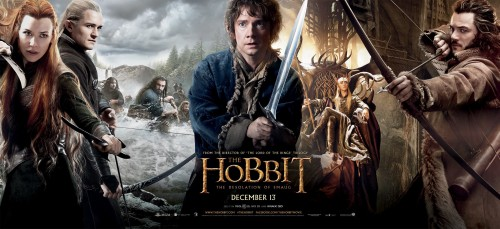 COMPETITION GIVEAWAYS: The Hobbit - Desolation of Smaug on BLU-RAY 3D - Limited Edition Steelbook.