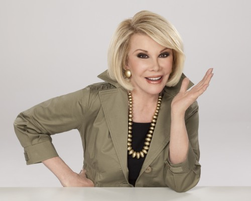 CELEBRITY NEWS: Joan Rivers is due to appear on 'Celebrity Apprentice'