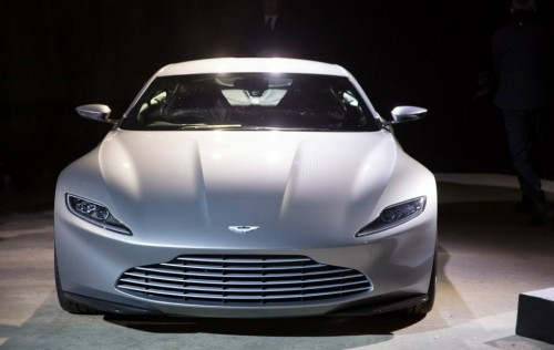 MOVIE NEWS: The Aston Martin DB10 will be James Bond's new car in SPECTRE