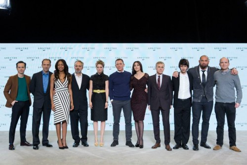 MOVIE NEWS: Entire Cast of SPECTRE - James Bond