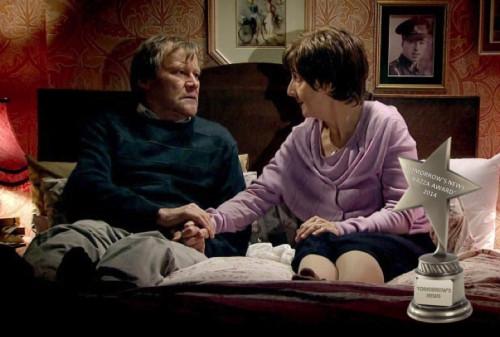 TV Awards: David Neilson as Roy Cropper in Coronation Street