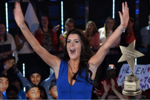 TV Awards: Helen Wood Winning Big Brother 2014
