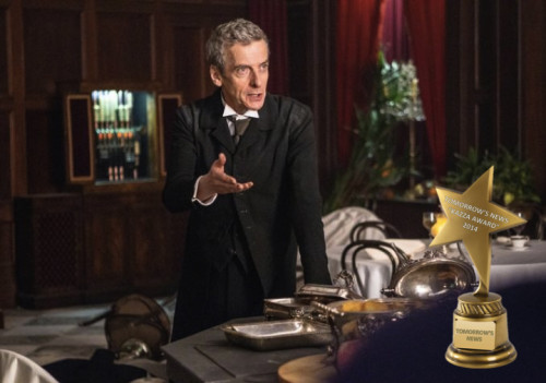 TV Awards: Peter Capaldi as Doctor Who