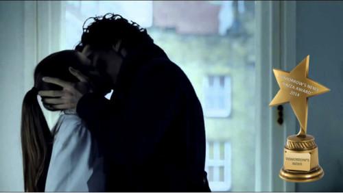 TV Awards: The moment where Sherlock Kisses Molly Hooper.