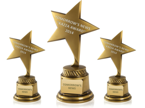 TOMORROW'S NEWS presents Awards to the Best TV of 2014
