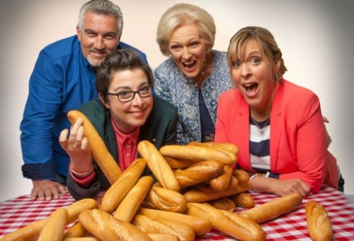 Latest GREAT BRITISH BAKE OFF TV Reviews 2015 - BREAD WEEK - BBC1