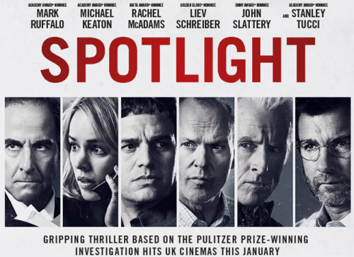 SPOTLIGHT Movie. Films You May Have Missed in 2015