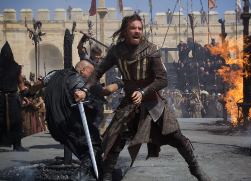Read the latest Entertainment and movie news - Michael Fassbender in ASSASSINS CREED