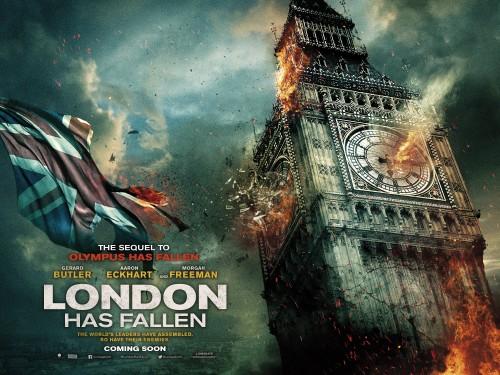 Find the Latest Movie Reviews 2016 - LONDON HAS FALLEN - Gerard Butler, Morgan Freeman