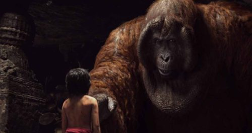 Read the Latest Film Reviews 2016 - DISNEY JUNGLE BOOK - Mowgli and King Louie