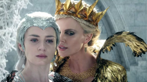 All the Latest Film Reviews 2016 - THE HUNTSMAN - WINTER'S WAR - CHARLIZE THERON; EMILY BLUNT