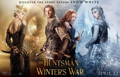 Find the Latest Film Reviews 2016 - THE HUNTSMAN - WINTER'S WAR - CHRIS HEMSWORTH