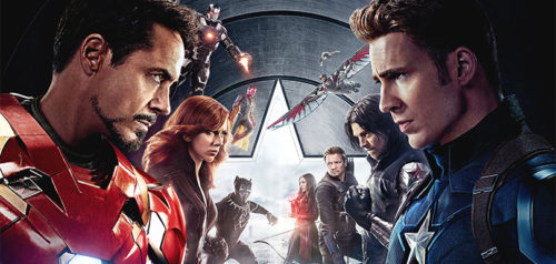 Only the Latest Film Reviews 2016 - CAPTAIN AMERICA CIVIL WAR (Poster)