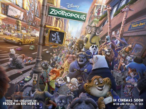 Find the Latest Film Reviews 2016 - Disney Zootropolis