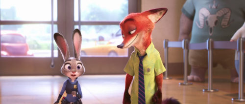 Only the Latest Film Reviews 2016 - Disney Zootropolis - Judy Hopps and Nick Wilde