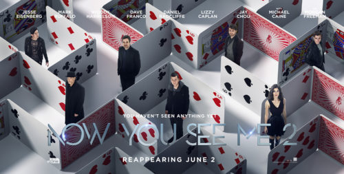Find the Latest Film Reviews - NOW YOU SEE ME 2 (2016)
