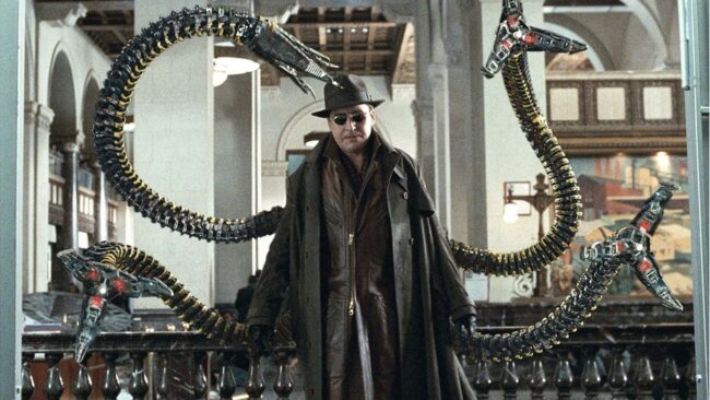 Alfred Molina as Doc Ock - TOMORROW'S NEWS